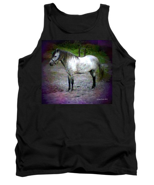 Tank Top featuring the photograph Vash The Stampede by George Pedro