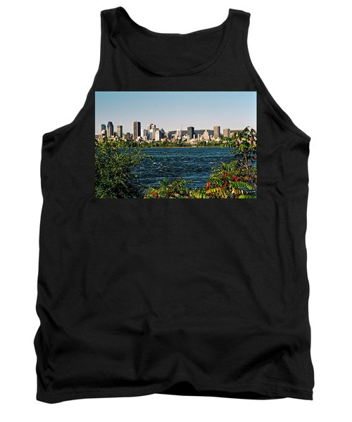 Tank Top featuring the photograph Ville De Montreal by Juergen Weiss