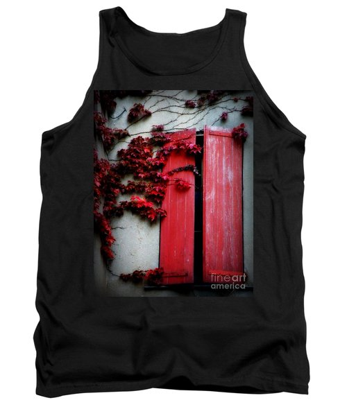 Vines On Red Shutters Tank Top