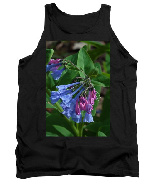 Virginia Bluebells Tank Top