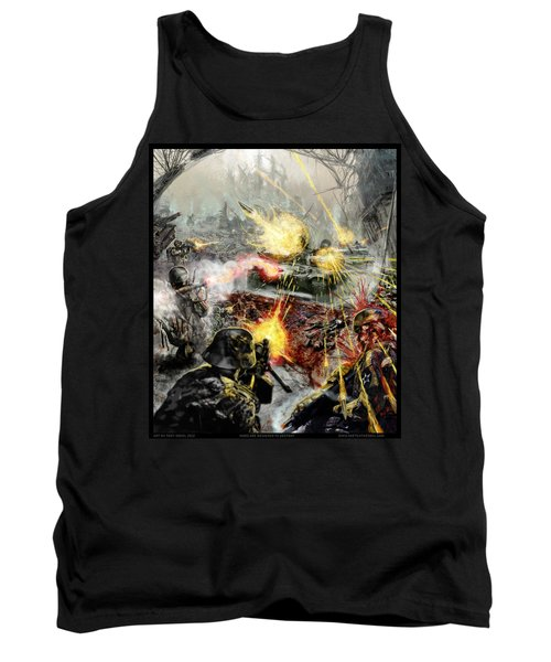 Wars Are Designed To Destroy  Tank Top by Tony Koehl