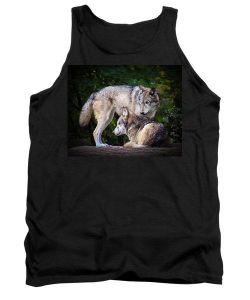 Tank Top featuring the photograph Watching Over by Steve McKinzie