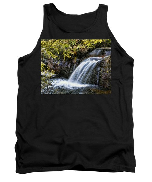 Tank Top featuring the photograph Waterfall by Hugh Smith