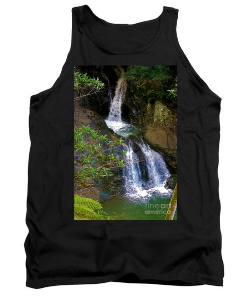 Waterfall In The Currumbin Valley Tank Top