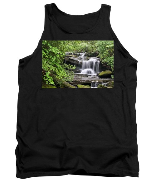 Waterfall Near Mabbitt Spring Tank Top