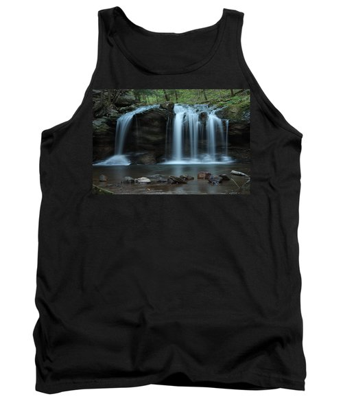 Waterfall On Flat Fork Tank Top