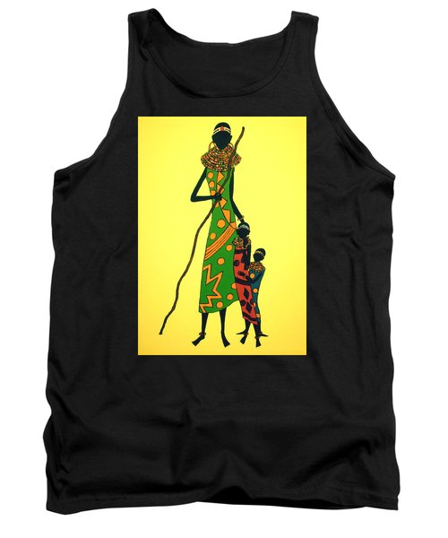 We Are Hungry Tank Top by Stephanie Moore