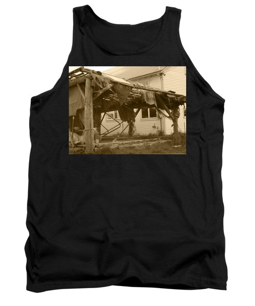 Tank Top featuring the photograph Weathered And Blown To Pieces by Kym Backland