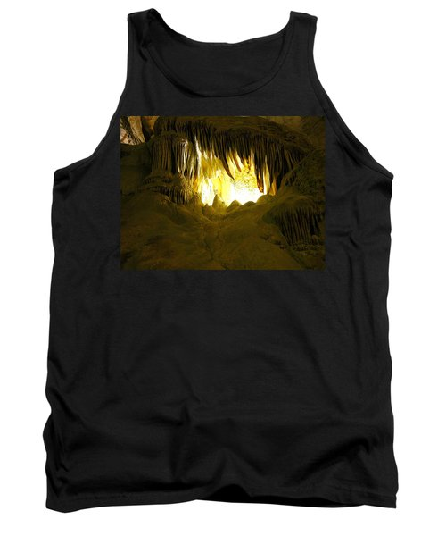 Whales Mouth Tank Top by Keith Stokes