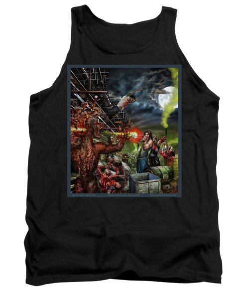 When Food Is Gone We Become.. Tank Top by Tony Koehl