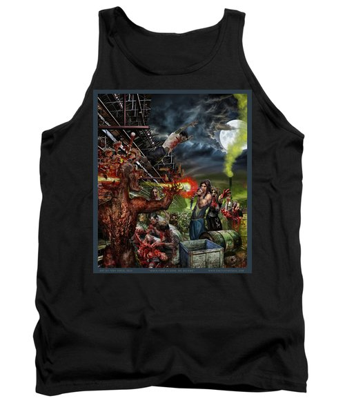When Food Is Gone We Become.. Tank Top