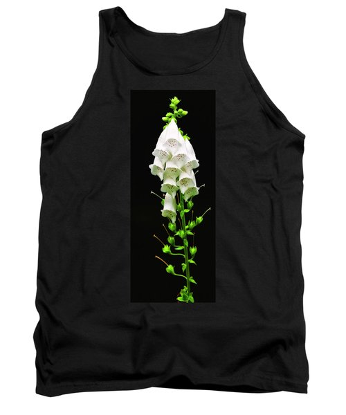 Tank Top featuring the photograph White Foxglove by Albert Seger