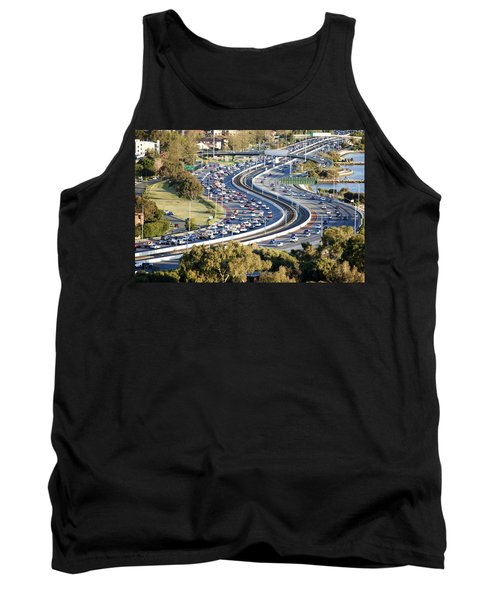 Tank Top featuring the photograph Winding Road by Yew Kwang