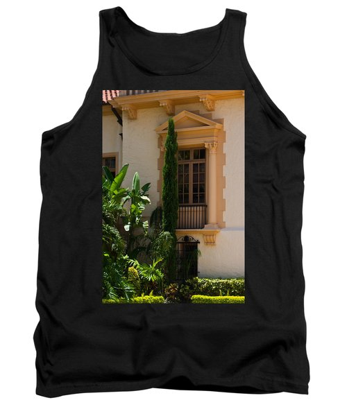 Tank Top featuring the photograph Window At The Biltmore by Ed Gleichman