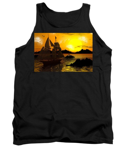Wooden Ships Tank Top
