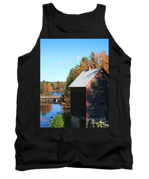 Tank Top featuring the photograph Working Gristmill by Barbara McMahon