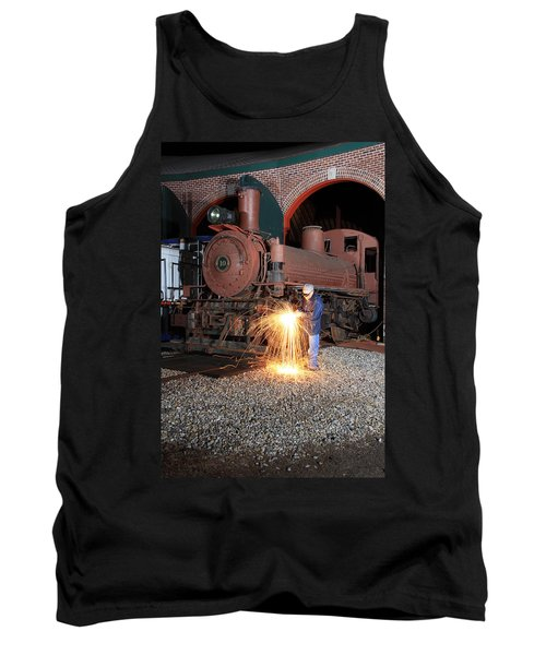 Working On The Railroad Tank Top