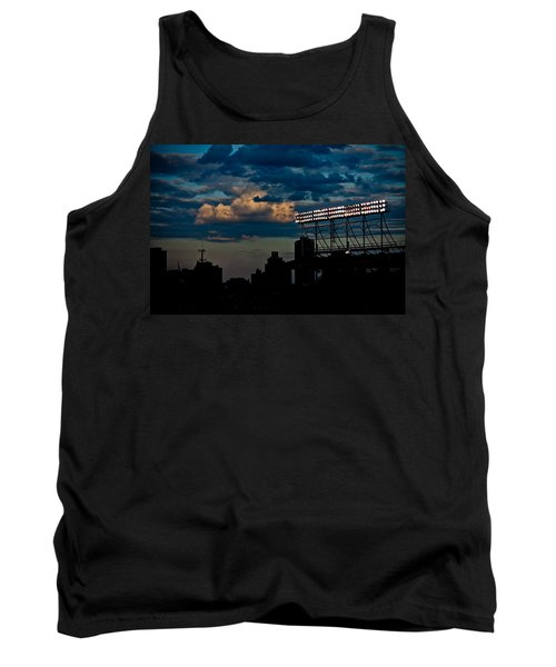 Wrigley Field Light Stand Tank Top
