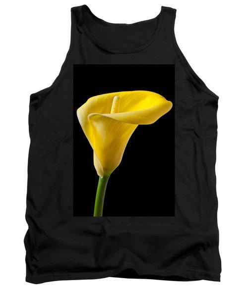 Yellow Calla Lily Tank Top
