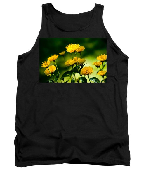 Yellow Daisies Tank Top