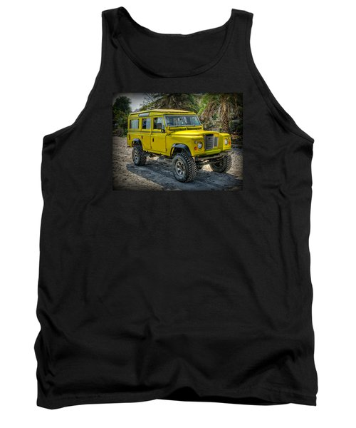 Yellow Jeep Tank Top