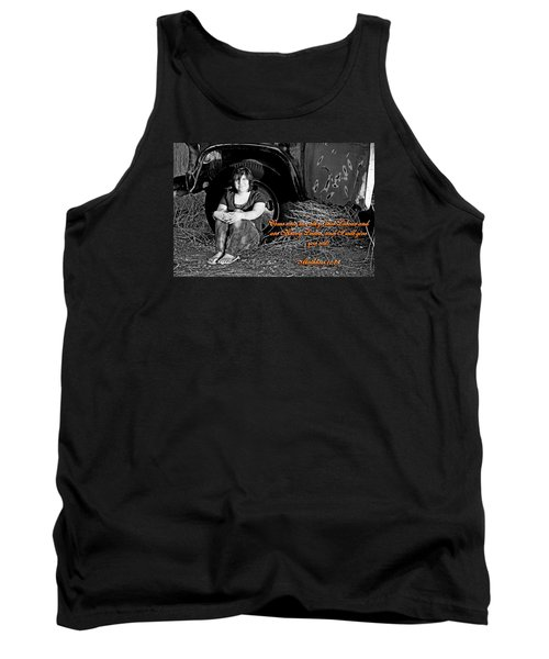 You Shall Find Rest Tank Top