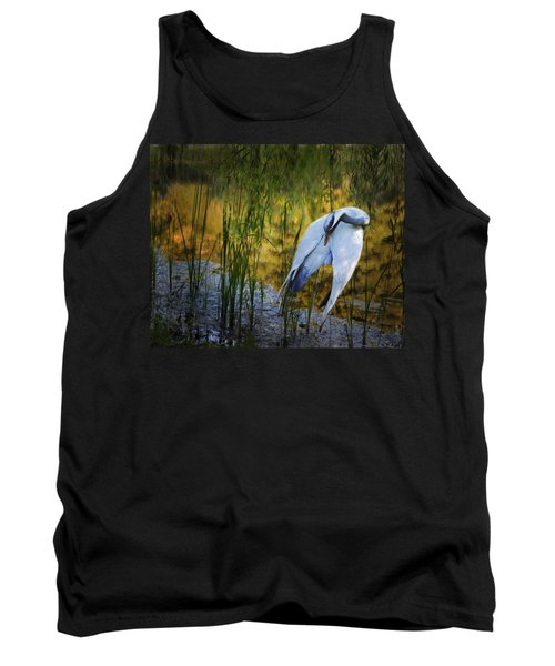 Zen Pond Tank Top by Melinda Hughes-Berland