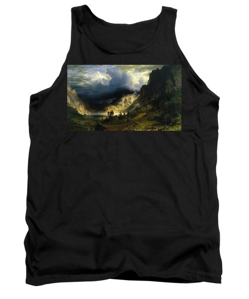 A Storm In The Rocky Mountains Mt. Rosalie Tank Top