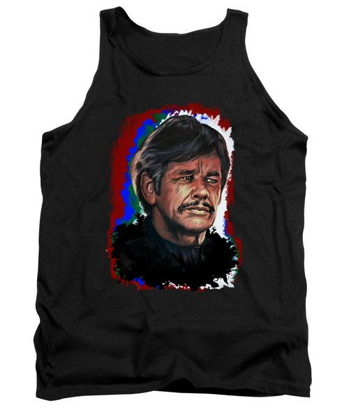 Tank Top featuring the painting  Charles by Andrzej Szczerski