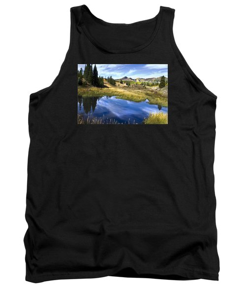 Road To Steamboat Lake Tank Top
