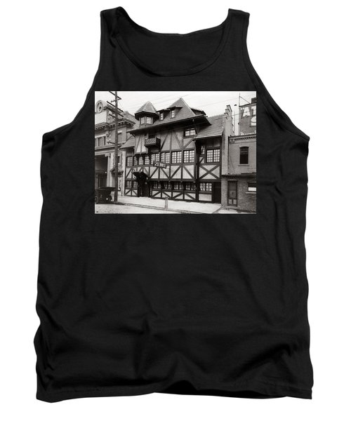 Scranton Pa Zenke's Alt Heidelberg Restaurant Early 1900s Tank Top