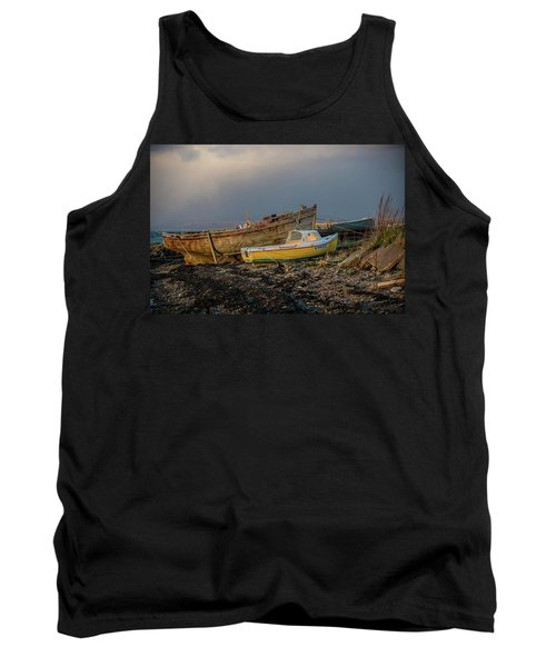 Sunset In The Highlands Tank Top by Terry Cosgrave