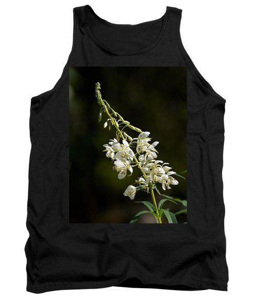 Tank Top featuring the photograph  White Fireweed by Jouko Lehto