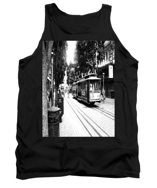021016 San Francisco Trolly Tank Top