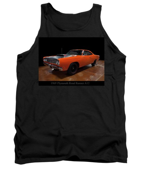 1969 Plymouth Road Runner A12 Tank Top