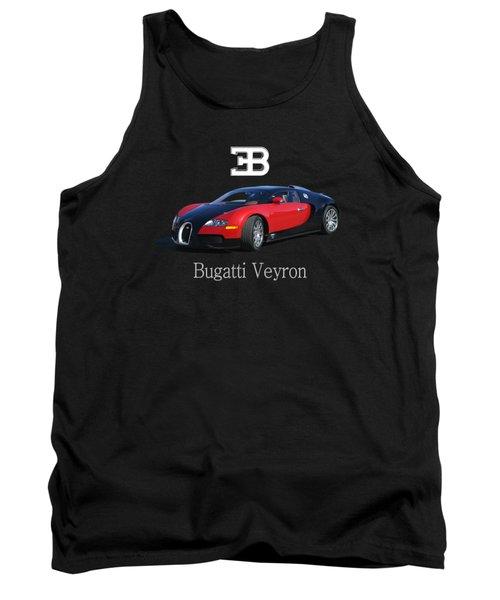 2010 Bugatti Veyron Tank Top by Jack Pumphrey