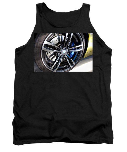 Tank Top featuring the photograph 2015 Bmw M4 by Aaron Berg