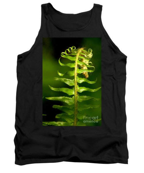 A Light In The Forest Tank Top by Sean Griffin
