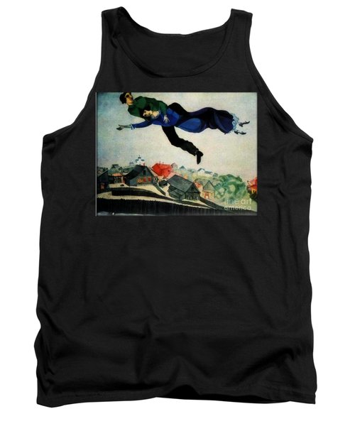 Above The Town Tank Top by Chagall
