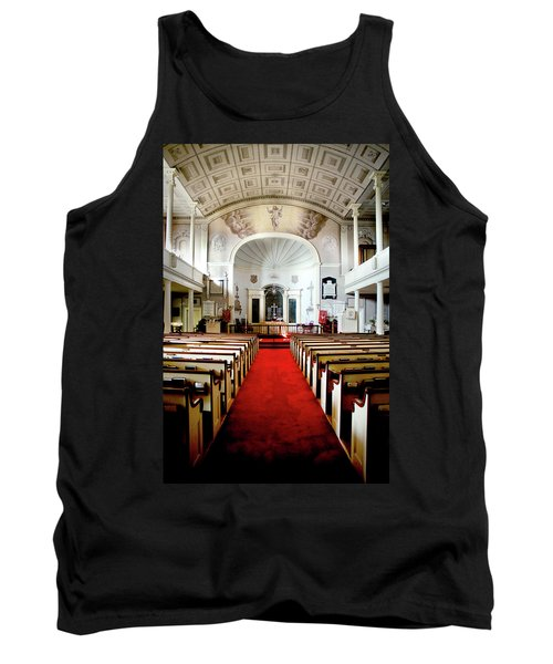 Tank Top featuring the photograph Aisle Of God by Greg Fortier