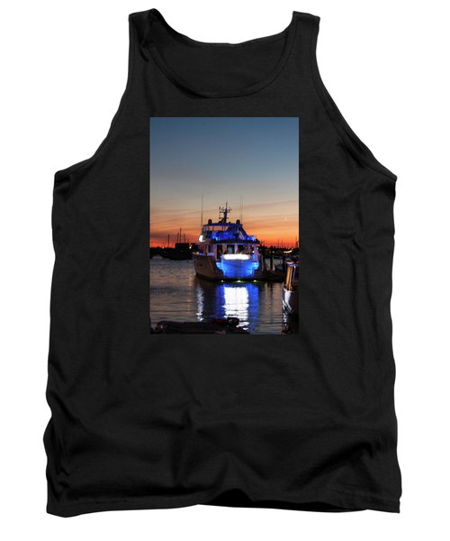 Tank Top featuring the photograph An Evening In Newport Rhode Island by Suzanne Gaff