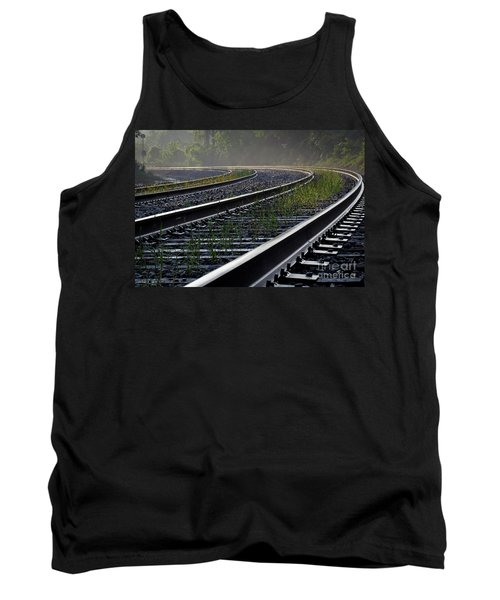 Tank Top featuring the photograph Around The Bend by Douglas Stucky