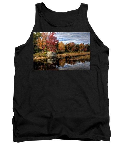 Autumn In Maine Tank Top