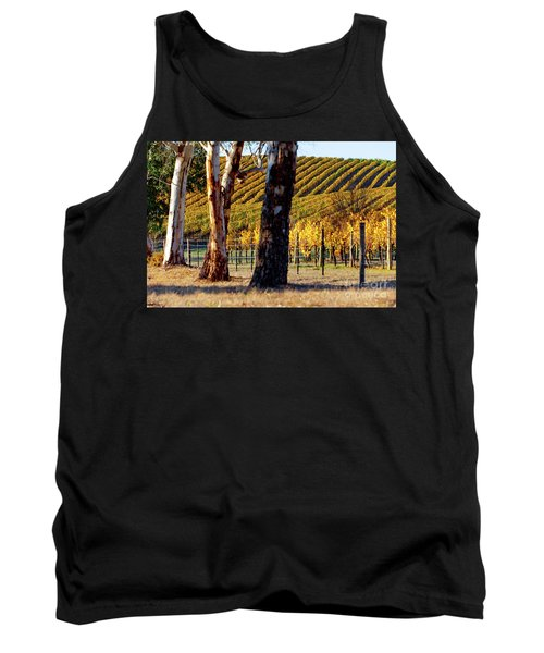 Autumn Vines Tank Top by Bill Robinson