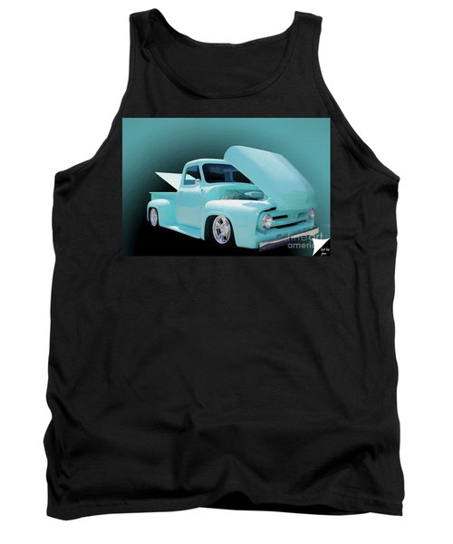 Tank Top featuring the photograph Baby Blue 2 by Jim  Hatch