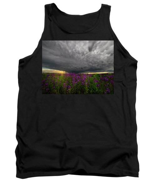 Tank Top featuring the photograph Beauty And The Beast by Aaron J Groen