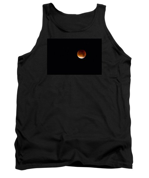 Blood Moon Super Moon 2015 Tank Top by Clare Bambers