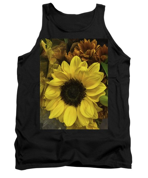 Bright Bouquet Tank Top by Arlene Carmel