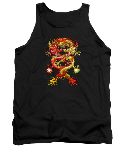 Brotherhood Of The Snake - The Red And The Yellow Dragons Tank Top