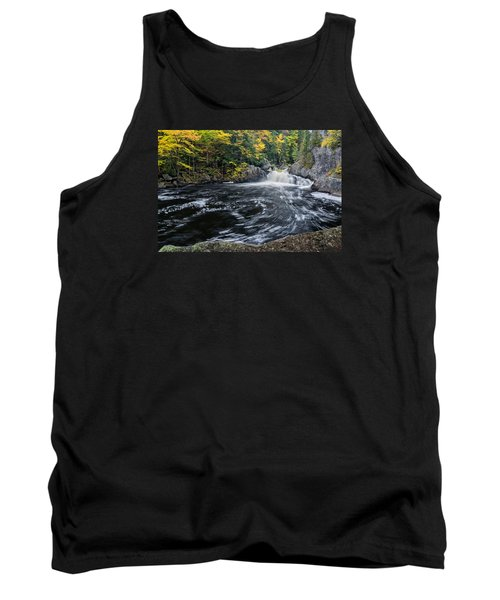 Buttermilk Falls Gulf Hagas Me. Tank Top by Michael Hubley